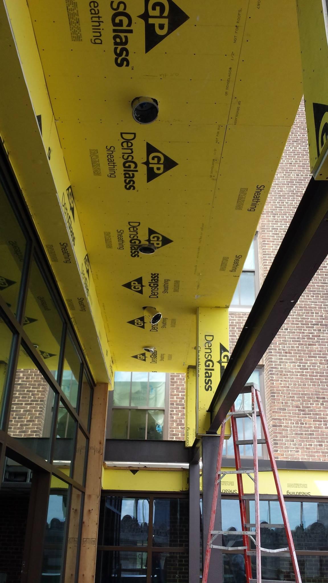 Bradleigh Applications, Inc. construction at 10 Light Street (STOTherm Next Lotusan EIFS)