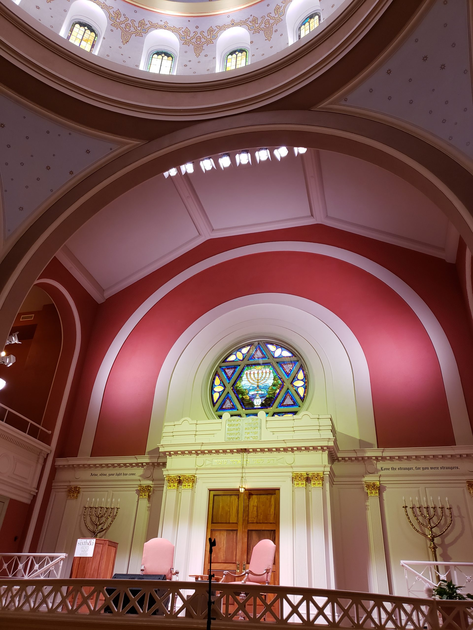 Bradleigh Applications, Inc. construction at Sixth & I Historic Synagogue