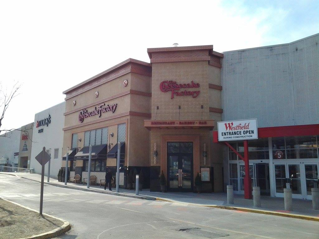 Bradleigh Applications, Inc. construction at Cheesecake Factory Montgomery Mall