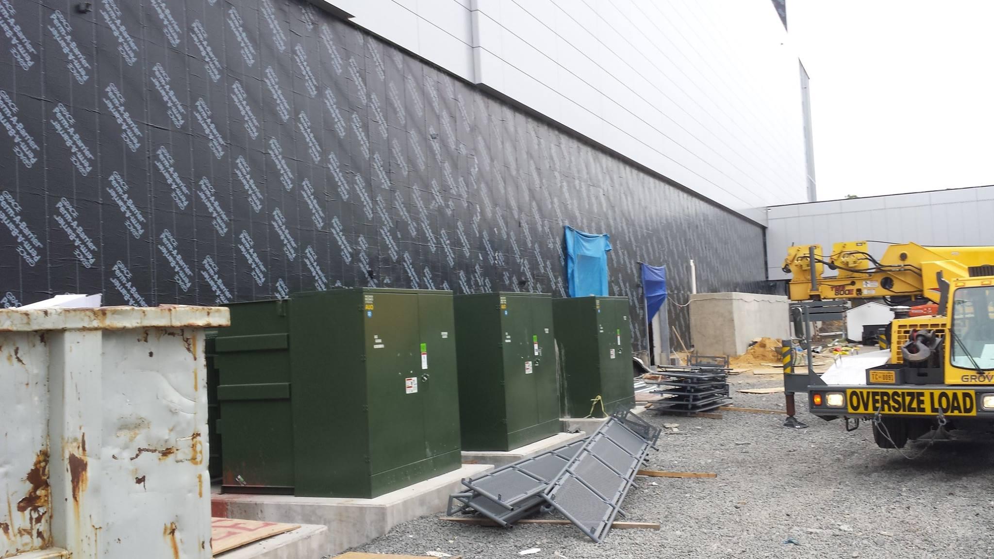 Bradleigh Applications, Inc. construction at Coresite (Polymer-Based EIFS - Sheet Metal Flashing & Trim - Joint Sealants)