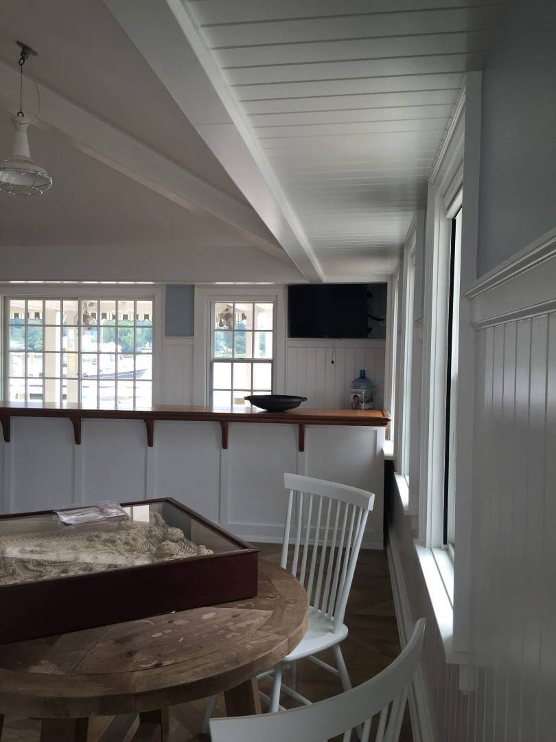 Bradleigh Applications, Inc. construction at Gibson Island Boathouse