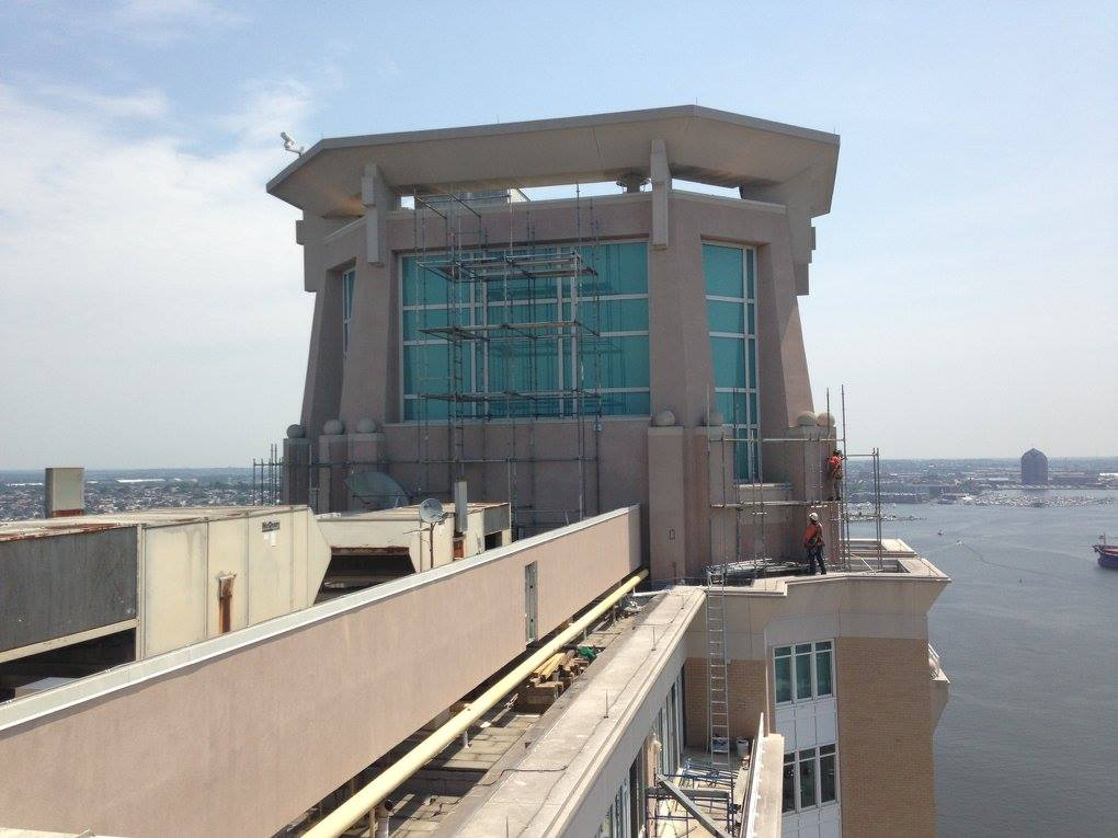 Bradleigh Applications, Inc. construction at Harborview Baltimore MD