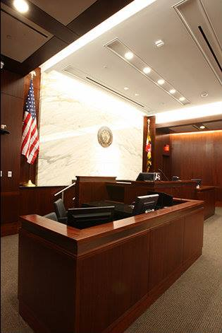 Bradleigh Applications, Inc. construction at Judicial Court Annex (Photo credit: Sisson Studios Inc.)