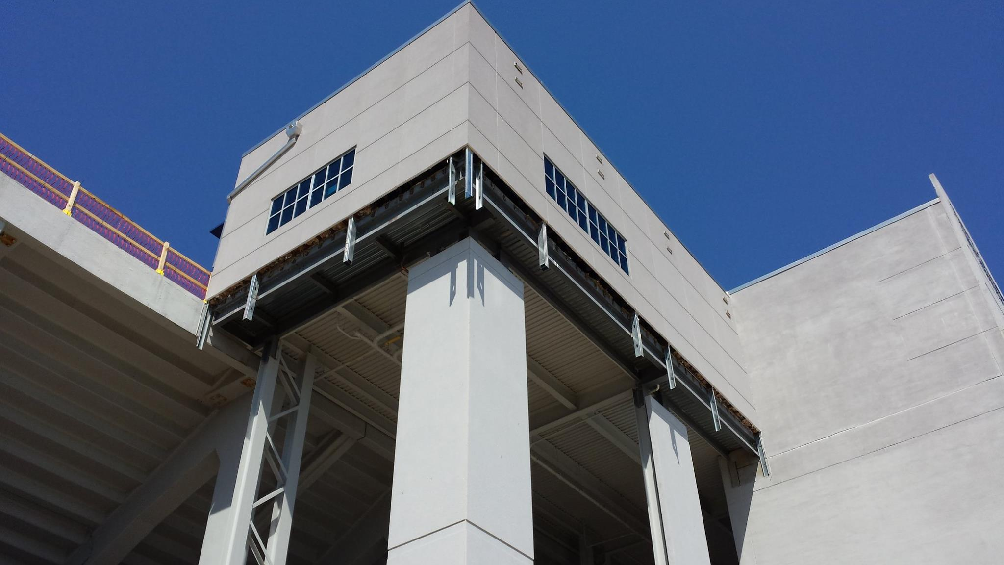 Bradleigh Applications, Inc. construction at Navy Marine Corps Stadium