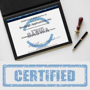 See our Bradleigh Application, Inc. certifications