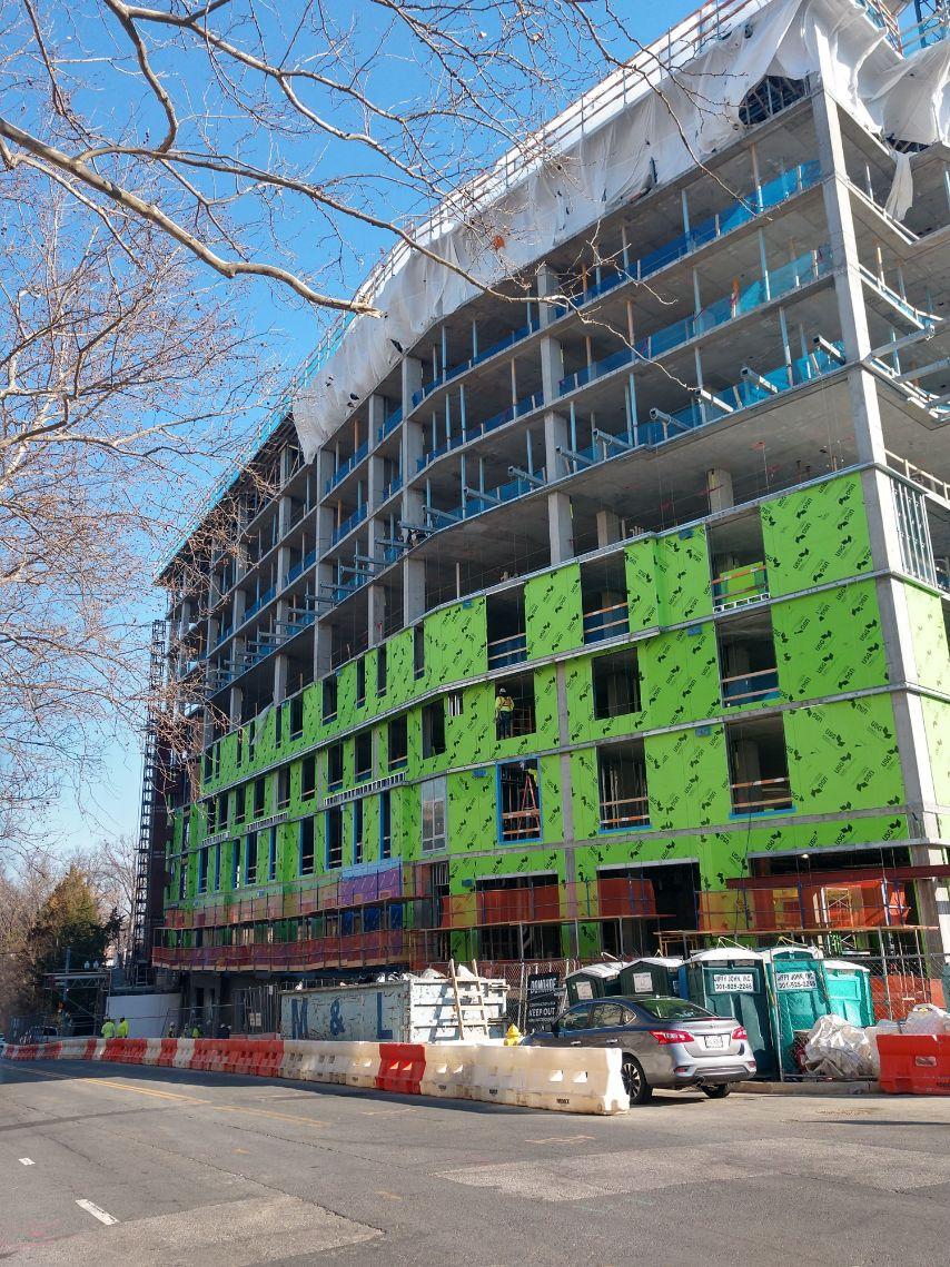 Bradleigh Applications, Inc. AVB construction at Queens Court