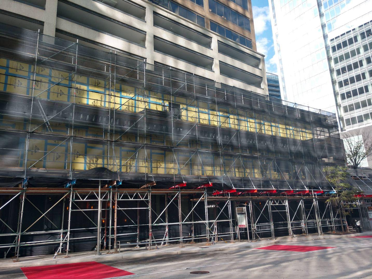 Bradleigh Applications, Inc. AVB construction at Rosslyn City Center
