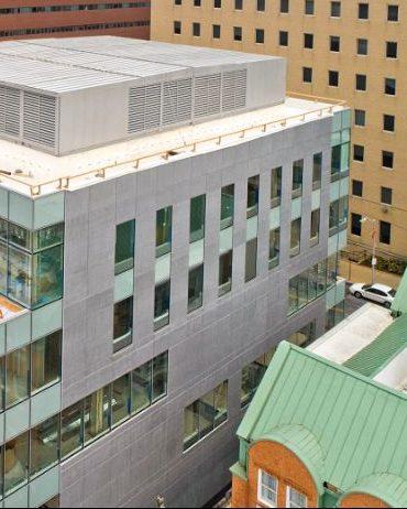Bradleigh Applications, Inc. EIFS construction at John's Hopkins School of Nursing