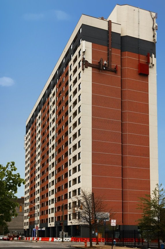 Bradleigh Applications Commercial EIFS using PAREX at J. Van Story Branch Apartments-11 West 20th Street-Baltimore