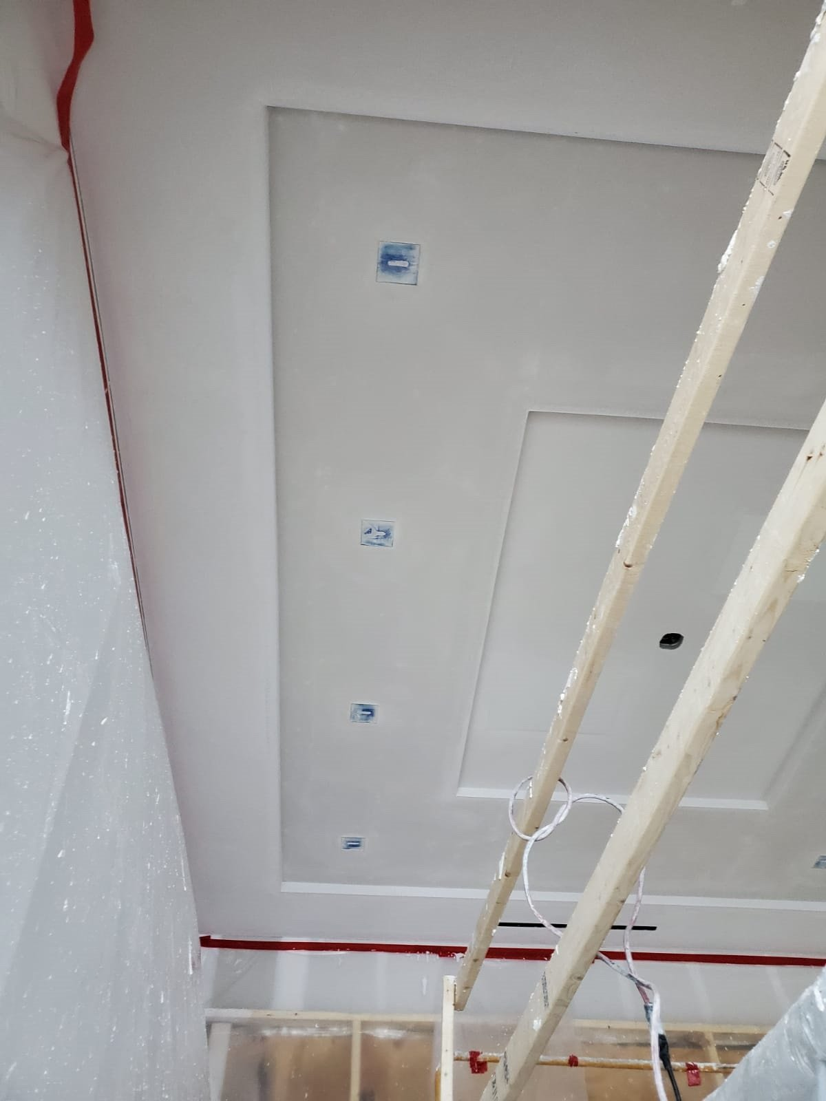 Bradleigh Applications Inc Acoustical Plaster using StarSilent at Lost Tree Village Private Residence