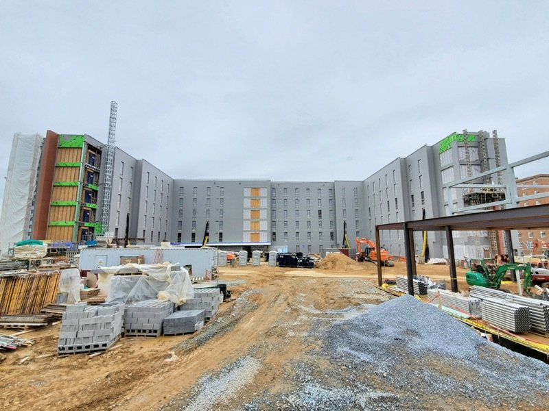 Bradleigh Applications, Inc. Construction at University of Maryland New On-Campus Housing